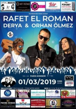 Rafet El Roman Paris Konseri