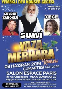 Suavi Paris konseri
